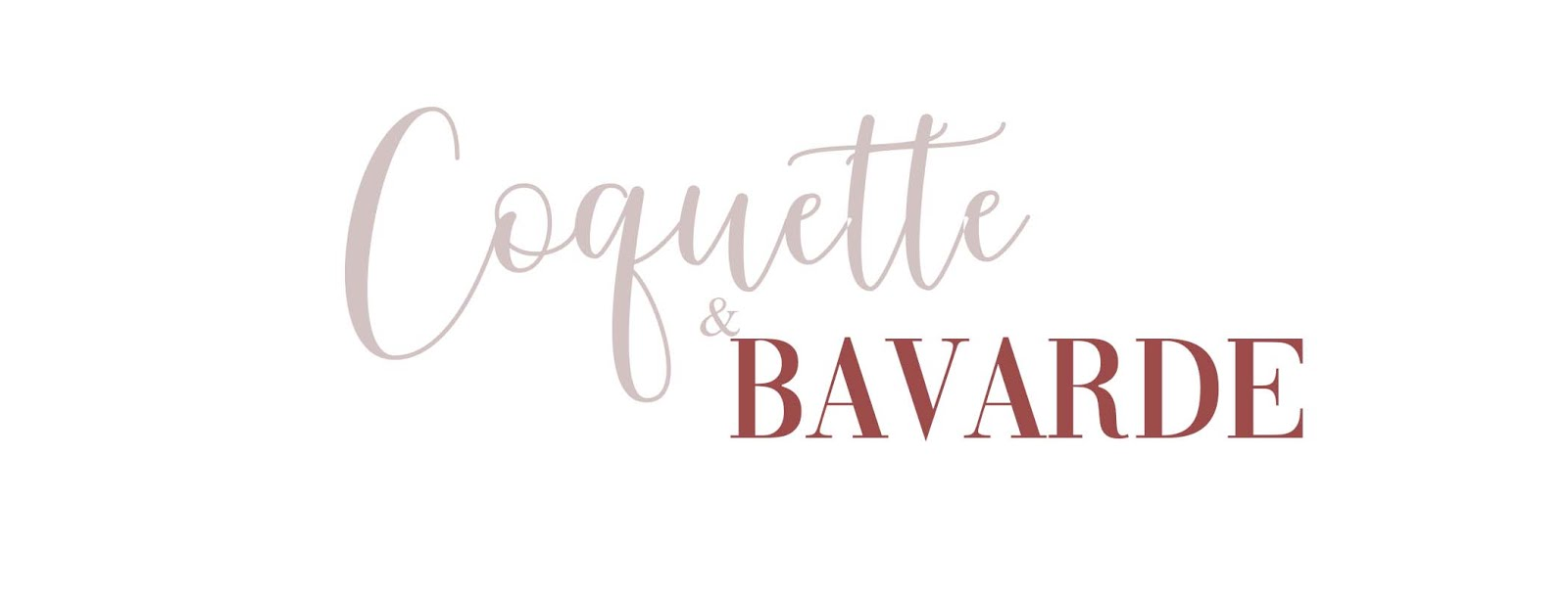 Coquette et Bavarde - Blog mode Caen