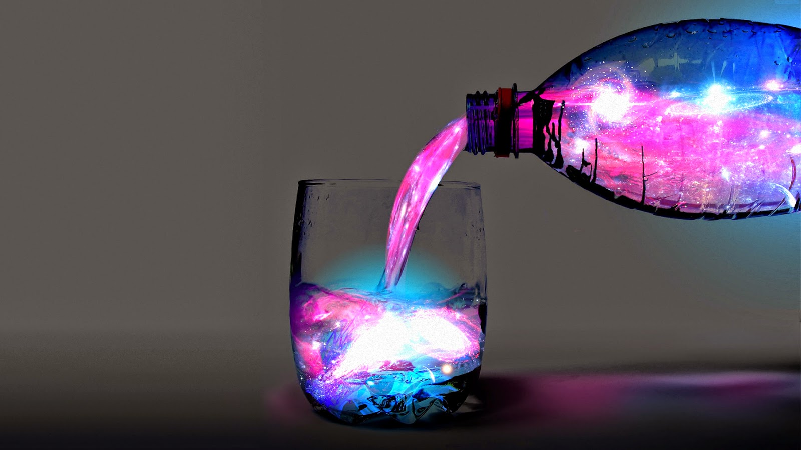 Abstract Colorfull Water hd wallpaper