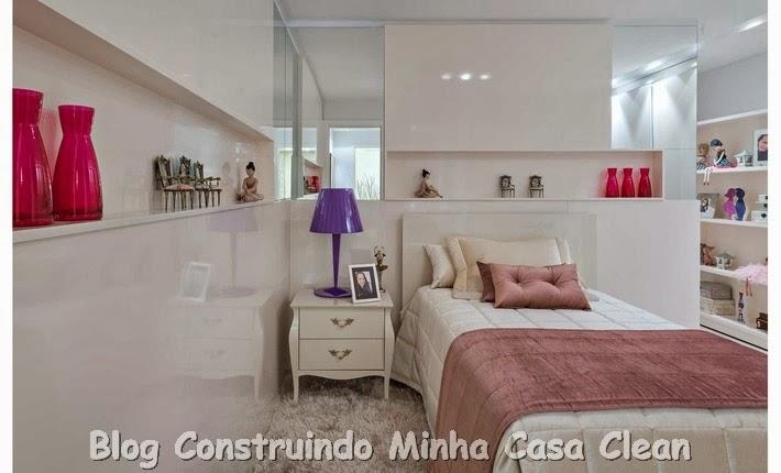 Construindo Minha Casa Clean 15 Quartos dos Sonhos de  ~ Tapetes Para Quarto Juvenil Feminino