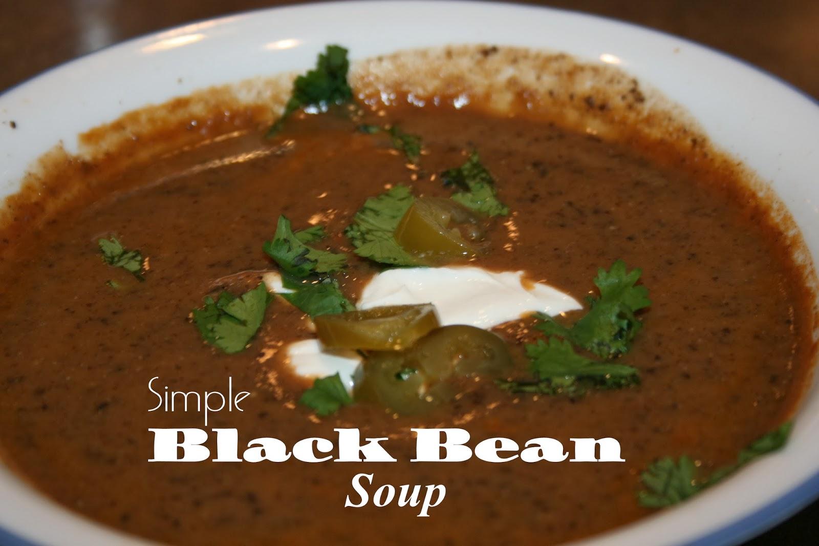 JOY Unspeakable: Black Bean Soup!