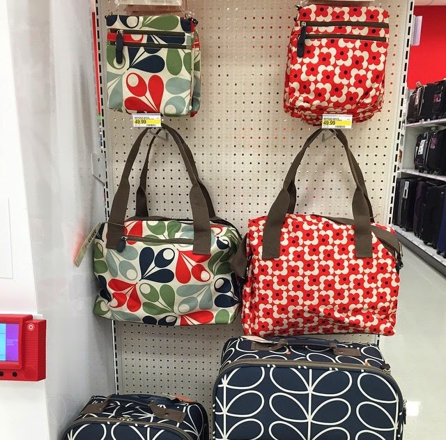 New Orla Kiely Bags And Luggage At Target