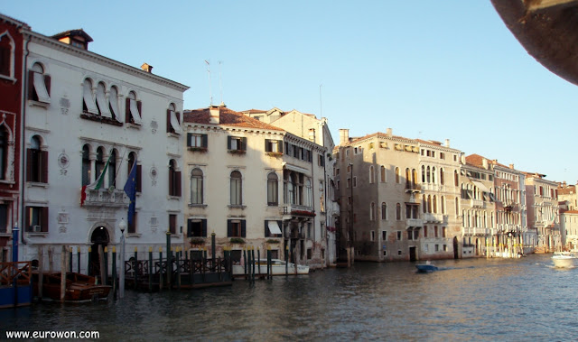 El Canal Grande de Venecia