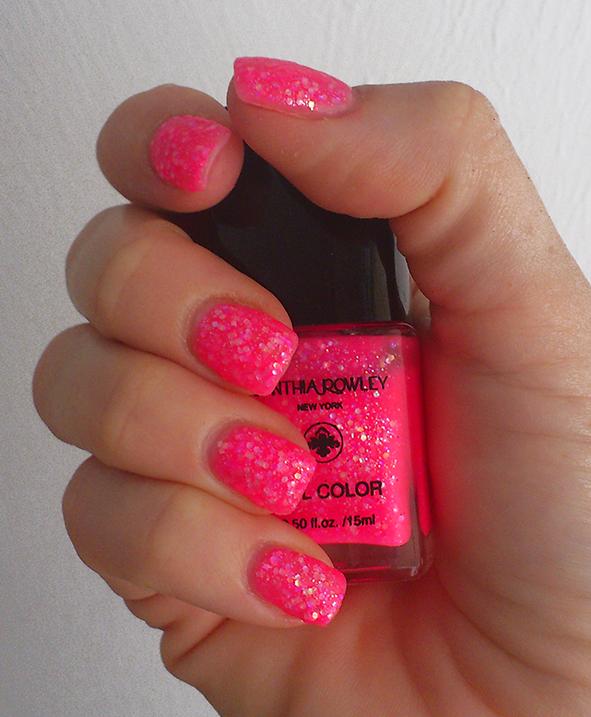 Yvee Kiwee Nagellack Neon Pink