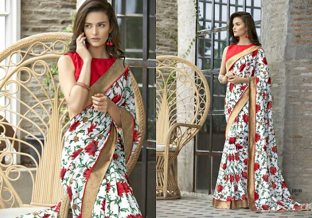 Fashionable Different Designer Saree