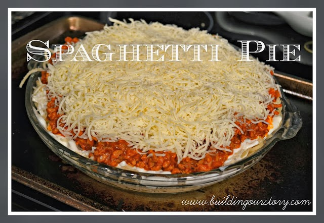 Spaghetti Pie Recipe