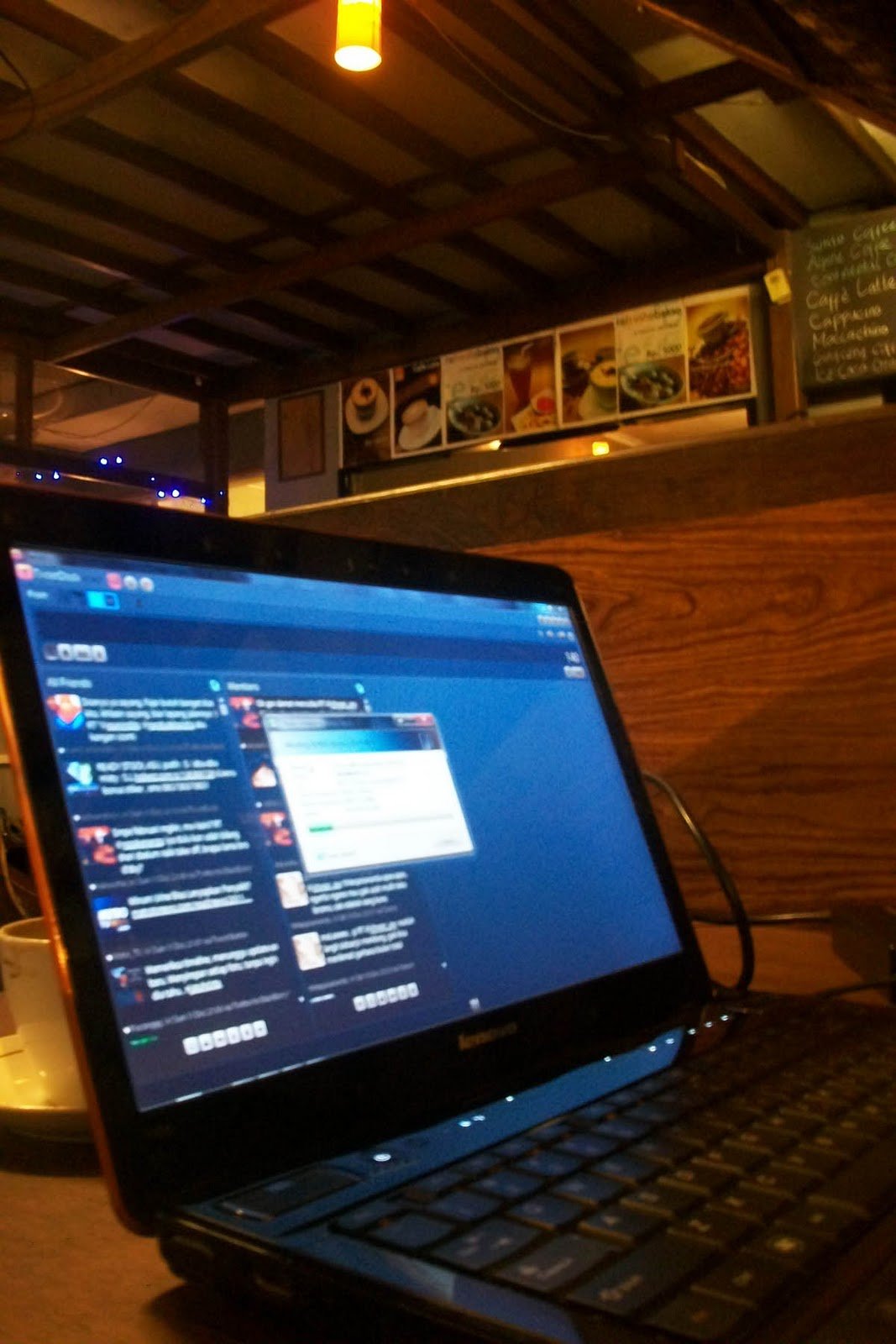 Usaha Kedai Kopi ©refresho coffee shop
