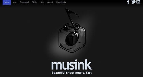 Musink compone tus canciones gratis y a un click - www.dominioblogger.com