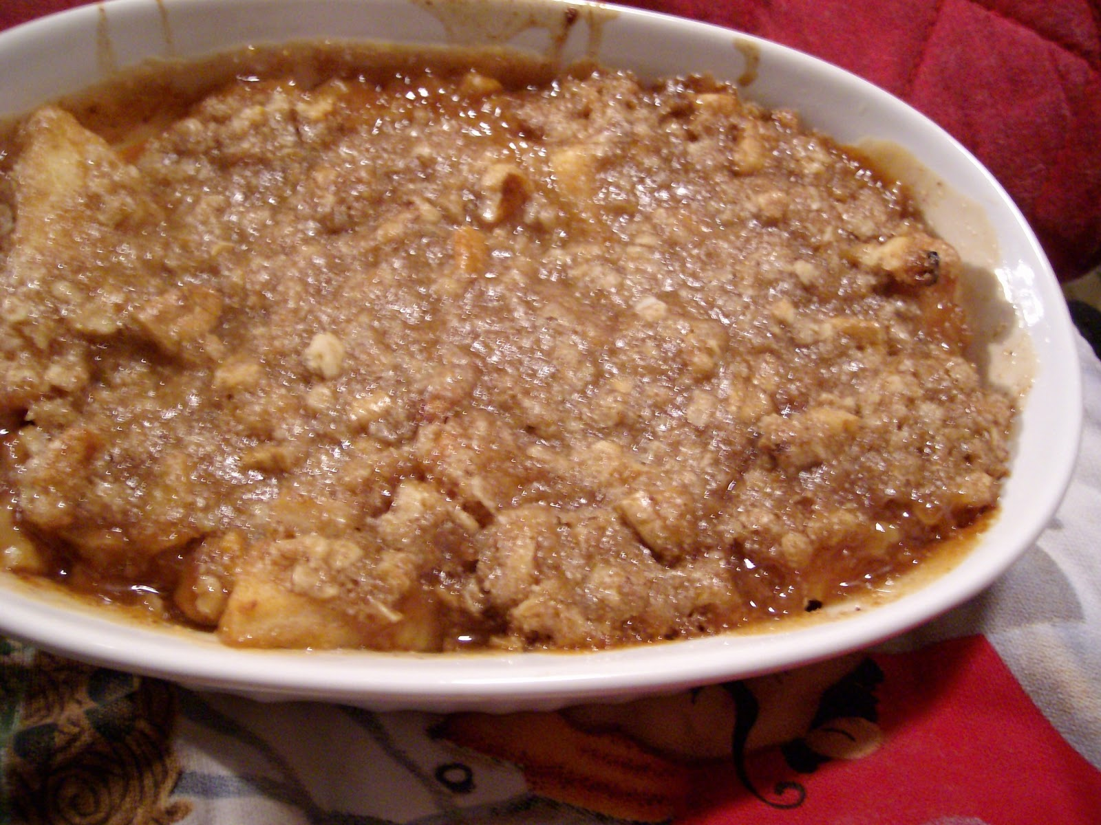 The Foodie RD: Best Ever Apple Crisp