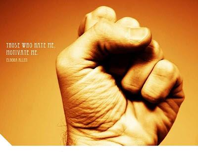 Those who hate me, motivate me