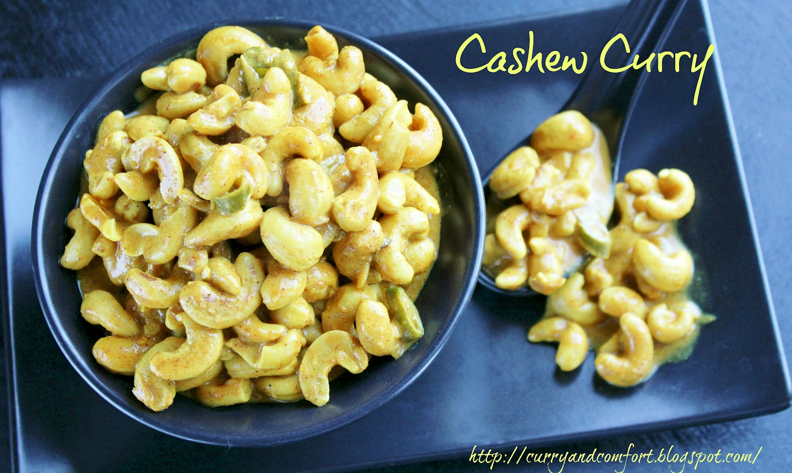 Curry and Comfort: Sri Lankan Cashew Curry