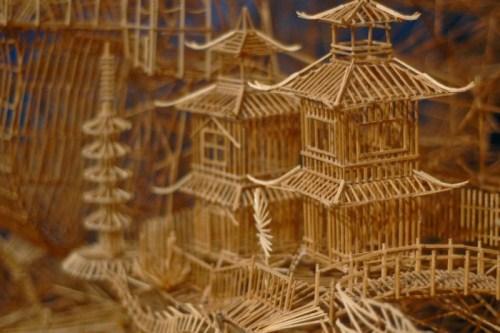 Toothpick house