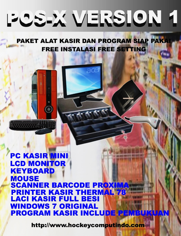 Mesin Kasir Pos X Version 1
