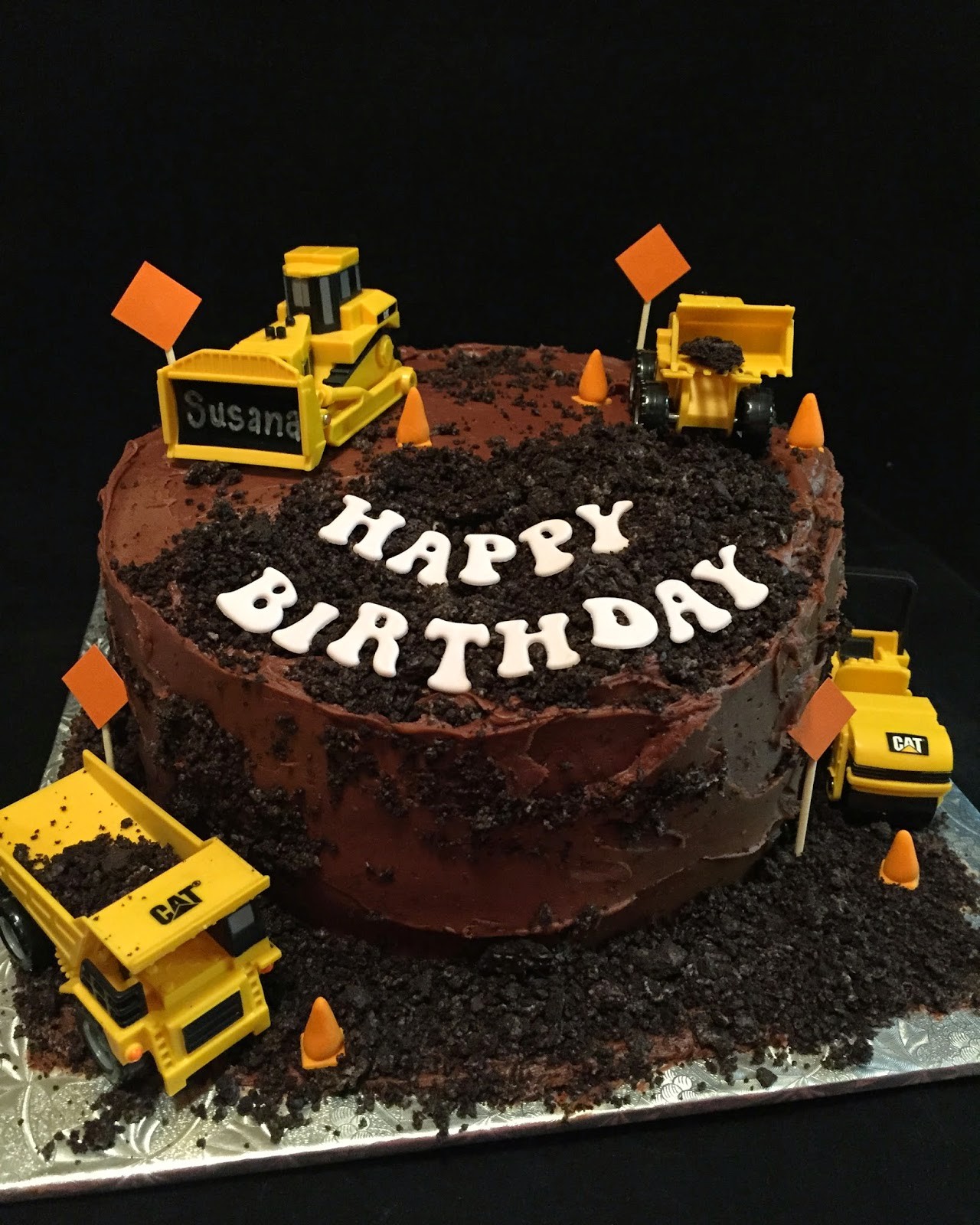 Cake Design For Civil Engineer : Construction Cake for a Civil Engineer