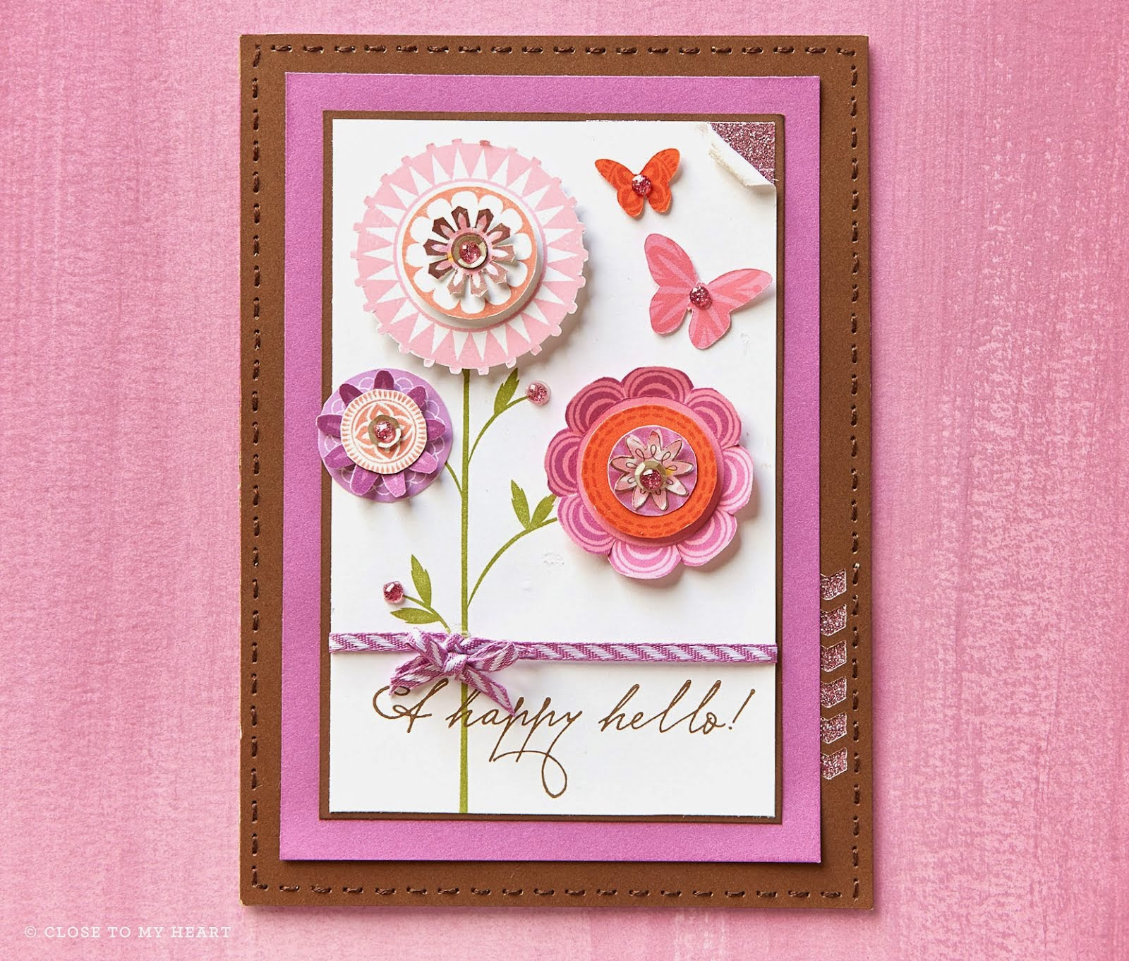 Card with Feb Stamp of the Month