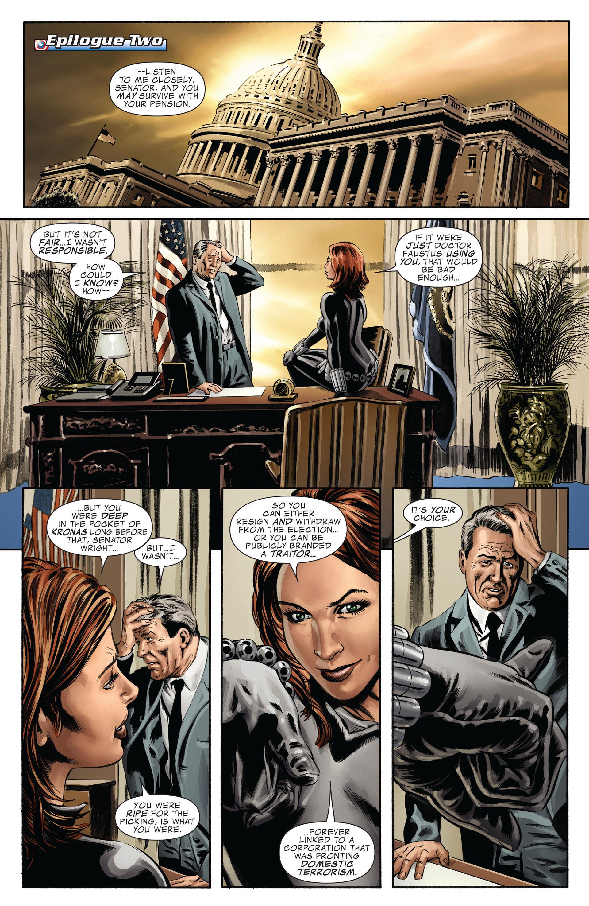 Captain America (2005) Issue #42 #42 - English 24
