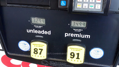 Costco gas for May 3, 2015 at Redwood City, CA