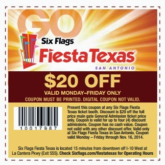 List of Six Flags Over Texas Discounts and Coupons