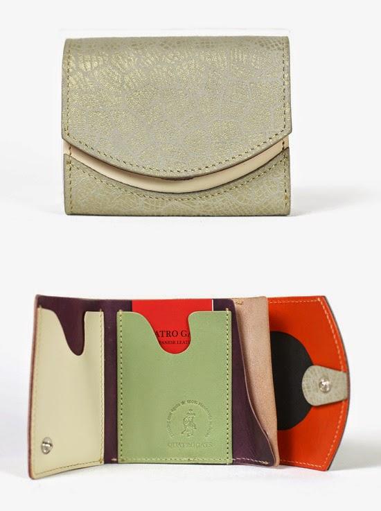 小さい財布ホワイトメロン