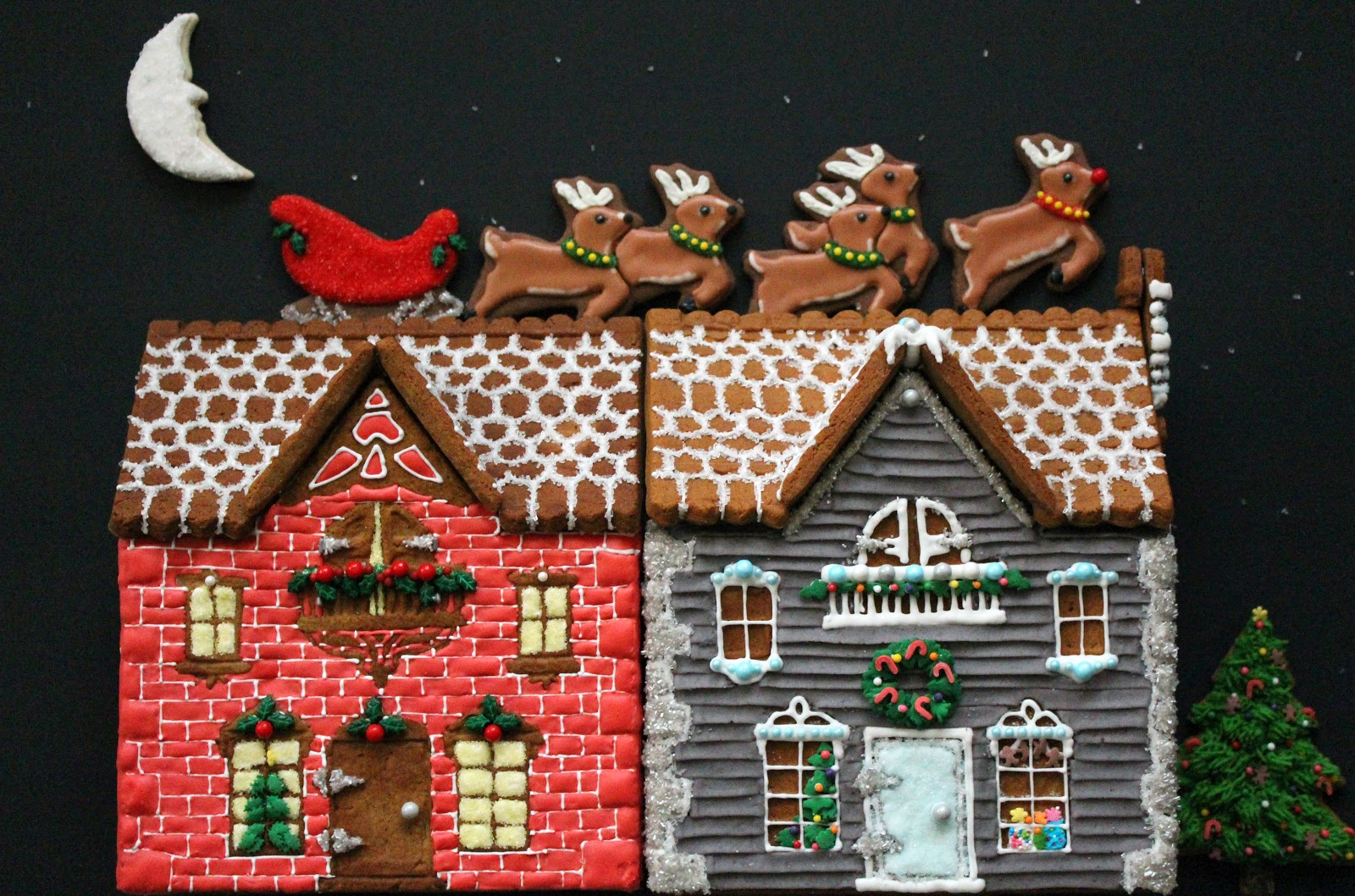 Worth Pinning: Gingerbread Houses