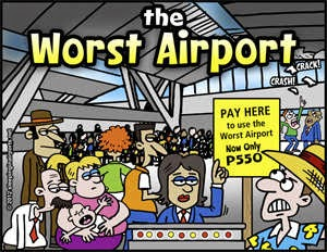 worst airport in the world payment