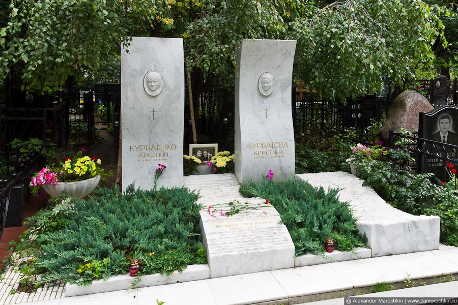 Арсений Куриленко и Кристина Курбатова - юные актёры, трагически погибшие при штурме Норд-Оста