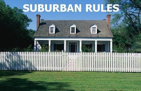 Suburban Rules