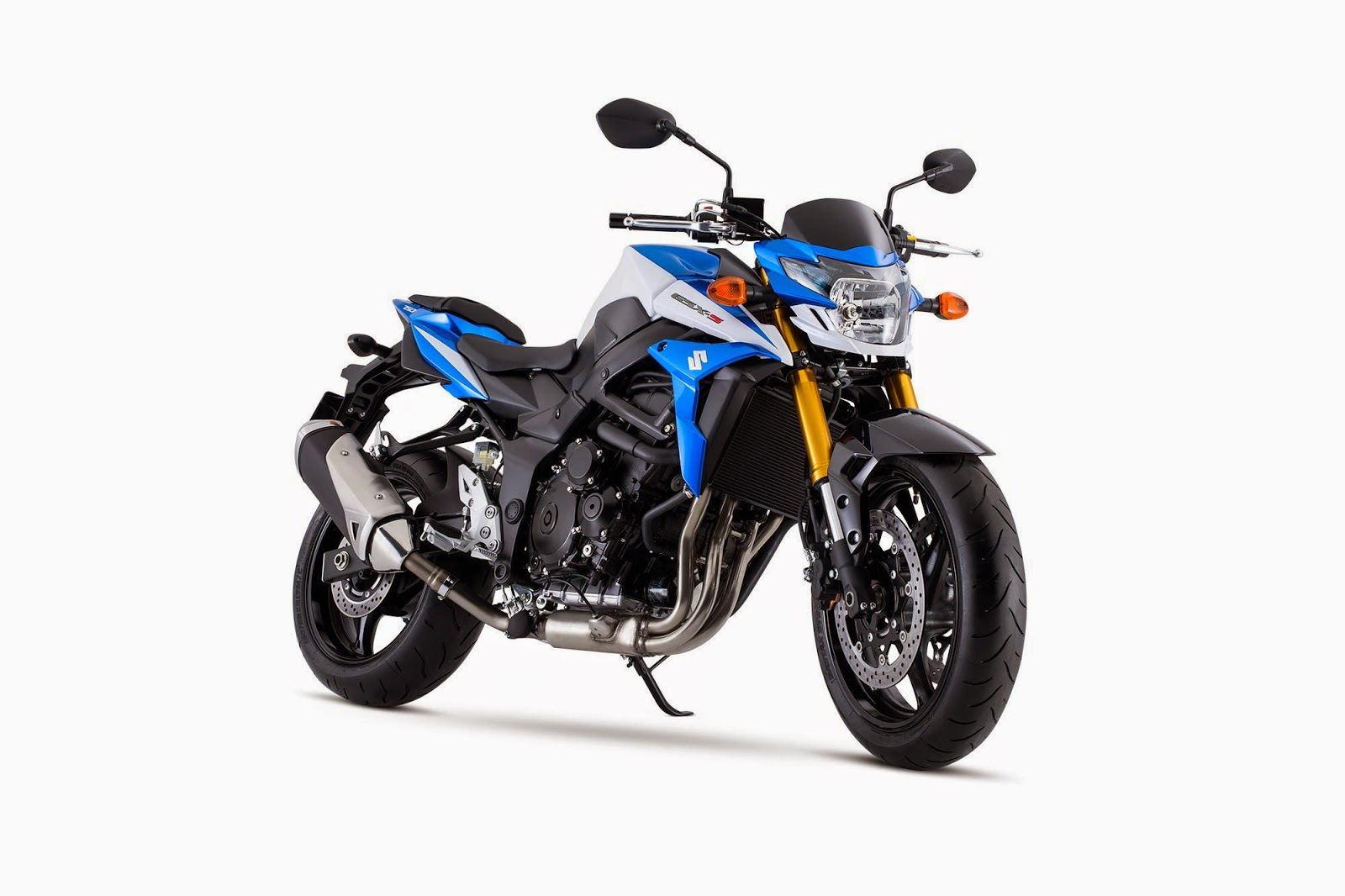 Newly Unveiled 2015 Suzuki GSX-S750Z And GSX-S750