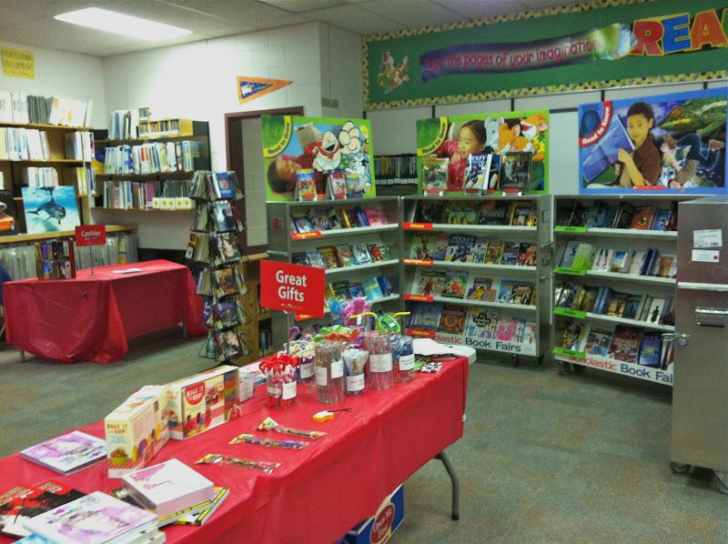 Maple Green Library Scholastic Book Fair