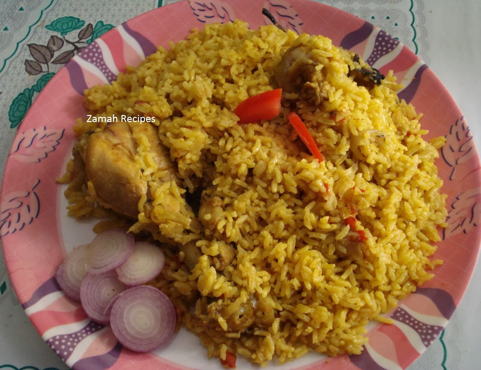 How To Make Chicken Biryani In Andhra Style