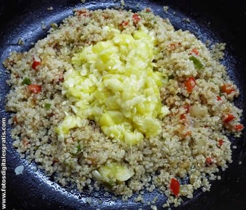 Recetas cocina naturista zapallitos o calabacines for Cocinar quinoa negra