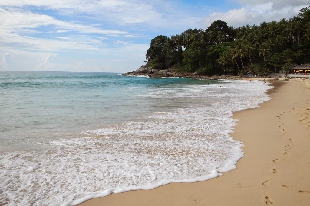 Suring Beach Phuket shore