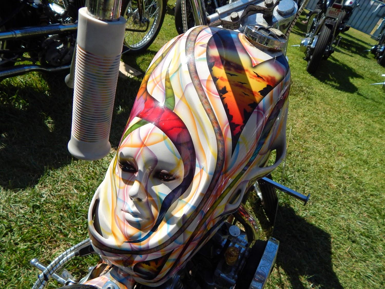custom sculpted face tank