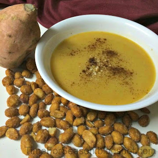 Sweet Potato Peanut Soup