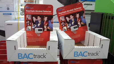 BACtrack Keychain Alcohol Detector Breathalyzer to check your BAC