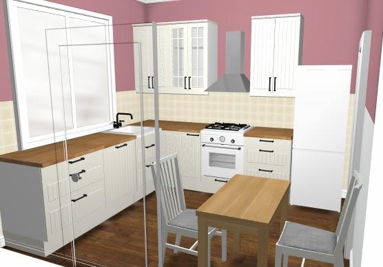 wiejskie życie kuchnia -> Kuchnia Hittarp Ikea