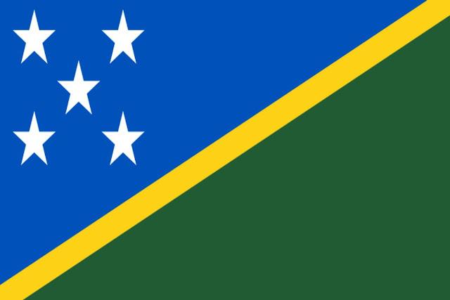 Imag Bandera de Islas Salomon