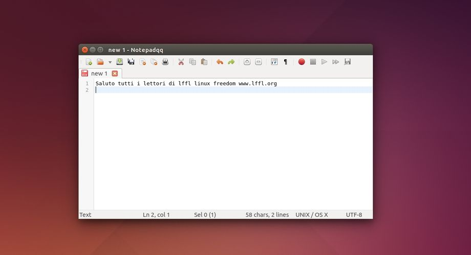 Notepadqq in Ubuntu