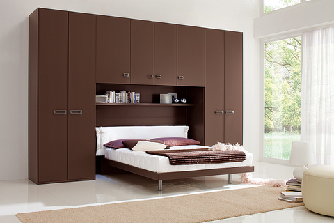 dormitorios con puente dormitorios con estilo. Black Bedroom Furniture Sets. Home Design Ideas