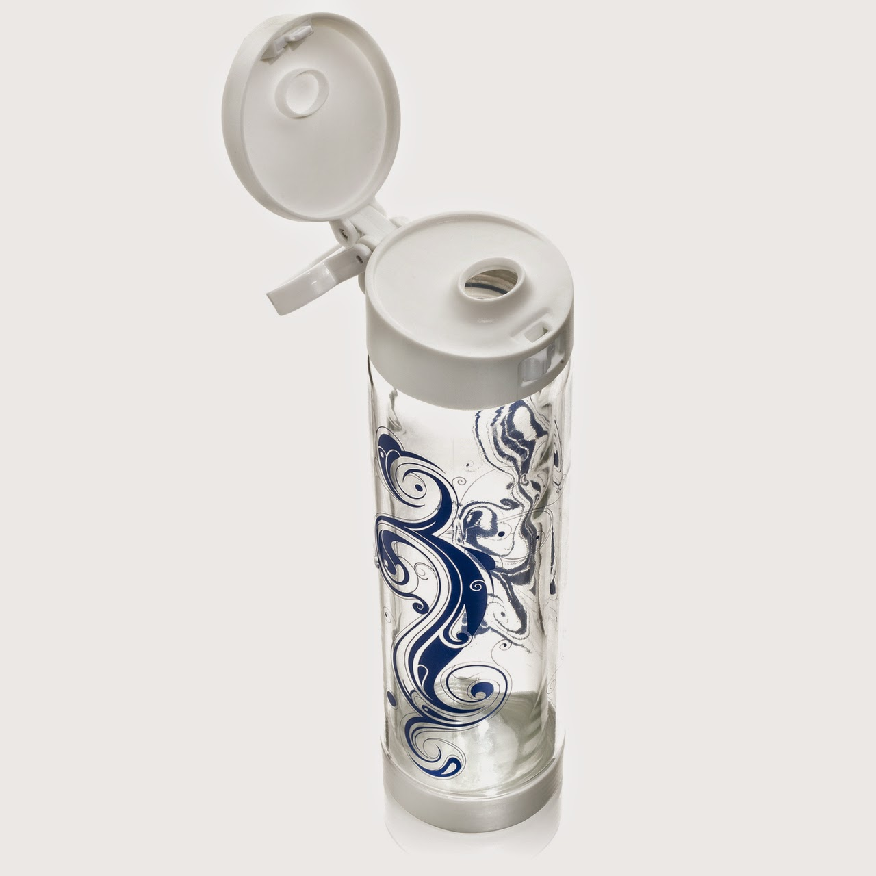 http://www.glassticwaterbottle.com/glasstic-16oz-tribal-ying-yang-design-white-flip-cap/