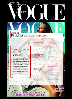 Vogue selecciona a Marta Garca como uno de los mejores centros de belleza de Espaa