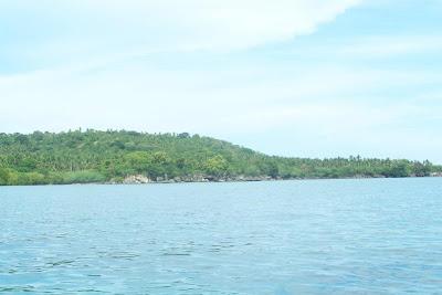 Island beach Laiya San Juan Batangas Philippines