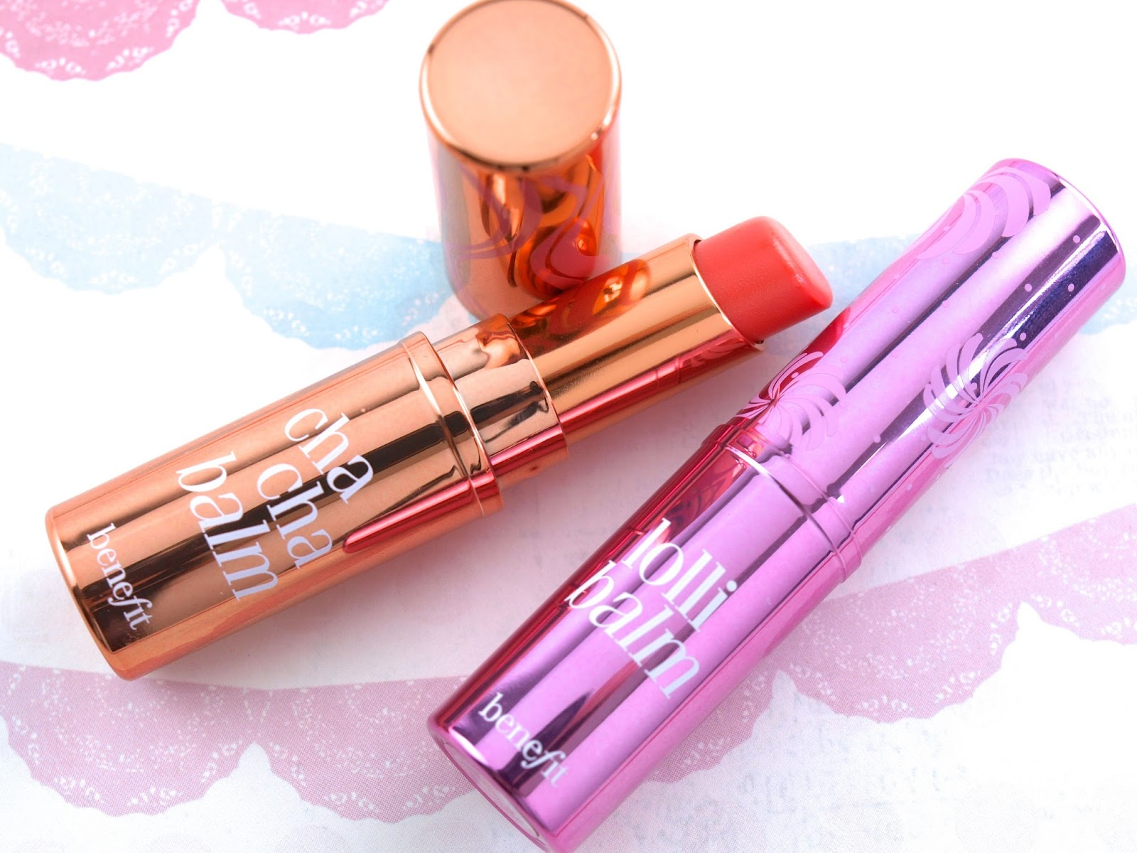Benefit Cha Cha Balm & Lollibalm Hydrating Tinted Lip Balm: Review and Swatches