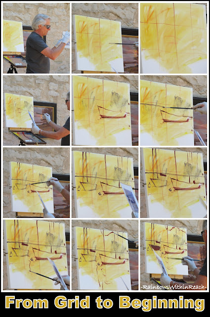 photo of: Master Class Painting: Grid to Begin