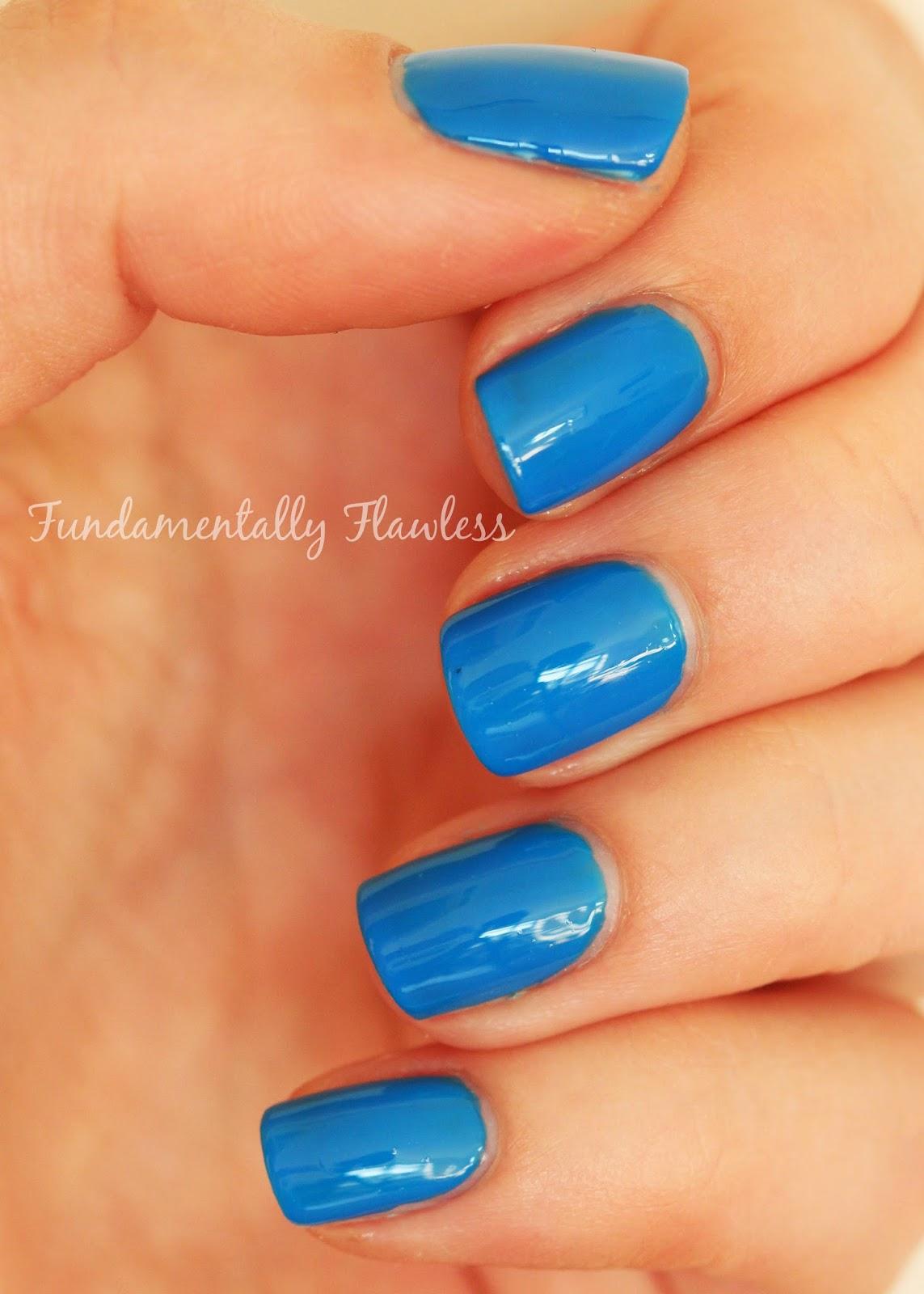 Pixi nail polish LA Blue