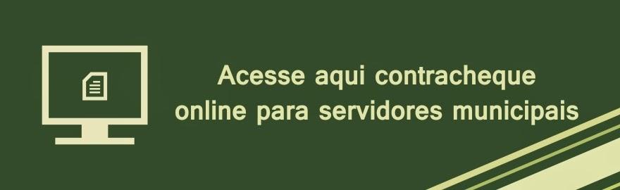Procedimentos para acessar os contracheques online dos servidores municipais de Aracoiaba