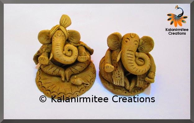 kalanirmitee: Ganesha- terracota ganesha- terracota clay
