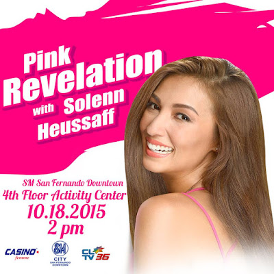 Who wants to get up close & personal with Solenn Heussaff?