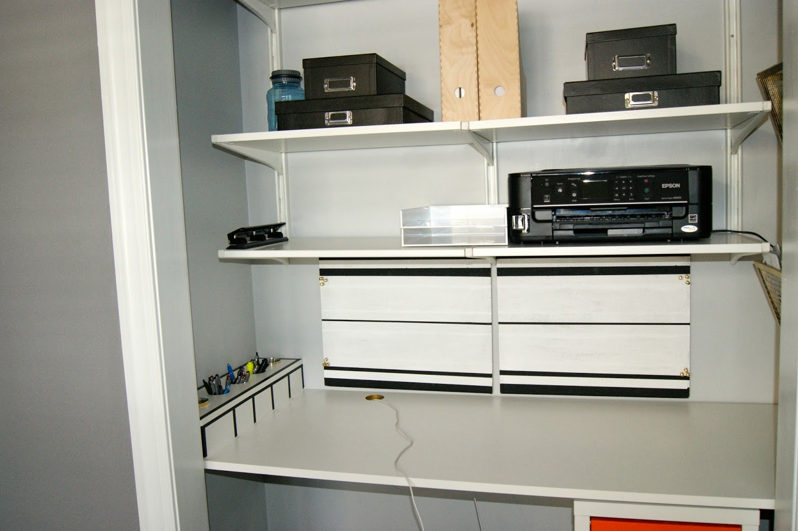 Projects DIY Closet Desk Storage Updates Ellis Page