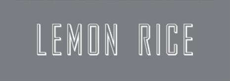 LEMON RICE レモンライス
