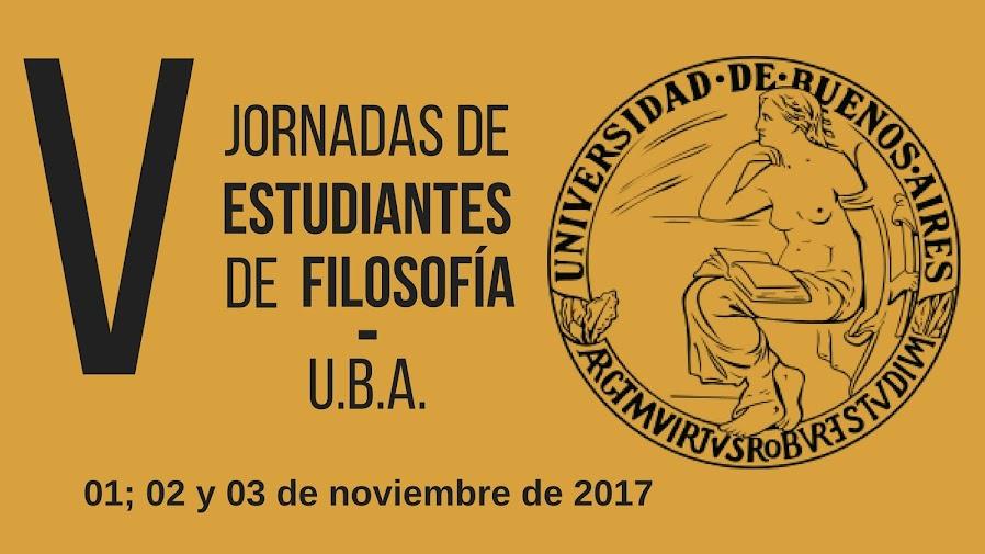 V Jornadas de Estudiantes de Filosofía (UBA)